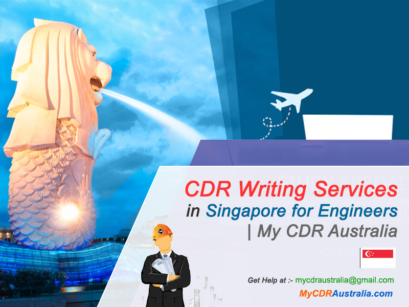 CDR Writing Services in Singapore